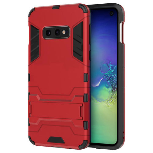 Slim Armour Tough Shockproof Case for Samsung Galaxy S10e - Red